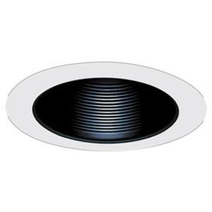 Elco Lighting ELM530W 5IN WHT MTL BAFL TRM