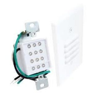 Elco Lighting ELST64W LED Mini Step Light w/ Louvered Faceplate, White