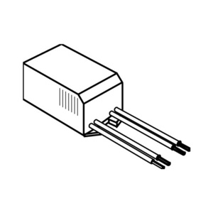 Elco Lighting ETR50 Electronic Transformer, 120V-12V