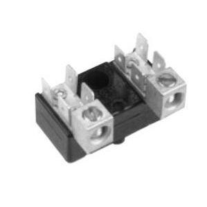 Elec-Tron EK-504 Terminal Block, 2P, .250 x0.32 Quick Connect Tabs, #4-14AWG, 4 Tabs