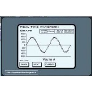 Electro Industries NEXUS1250-120-D2-60HZ-XX-GETC-2E MULTIFUNCTION POWER MONITOR