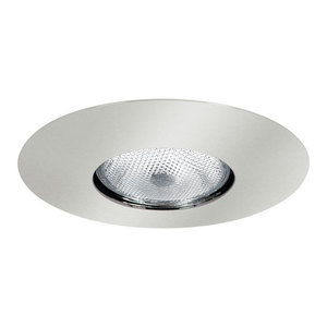 "Elite Lighting AF633W-WH Open Trim, Socket Supporting, 6"", White Baffle/White Trim"