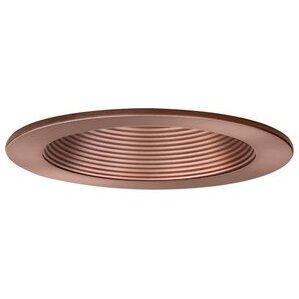 "Elite Lighting B401BZ-BZ Baffle Trim, 4"", Bronze Baffle/Bronze Trim"