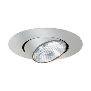 "Elite Lighting B502W-WH Eyeball Trim, 5"", White"