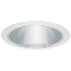 "Elite Lighting B617W-WH 6"" Shallow Cone Reflector"