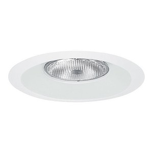 "Elite Lighting B633WH 6"" R/PAR30 Splay Trim"