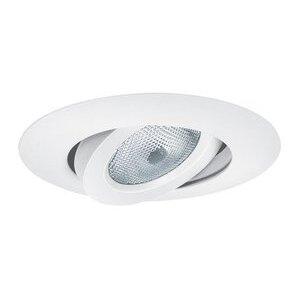 """Elite Lighting B663WH Slope Trim, Gimbal, 6"""", White"""