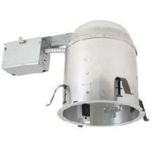 Elite Lighting EZ6RIC-AT-W Universal IC Remodel Housing, Air-Shut, 6""