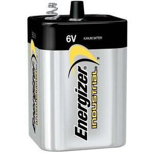 Energizer EN529 Lantern Alkaline Battery, 6 Volt, Coil Spring Terminal