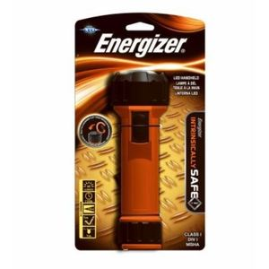 Energizer MS2DLED Waterproof Flashlight, LED, 66 Lumens, Orange/Black