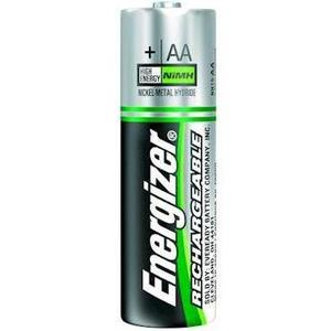 Energizer NH15BP-2 (2) 1.2V AA Rechargeable Batteries NiMH