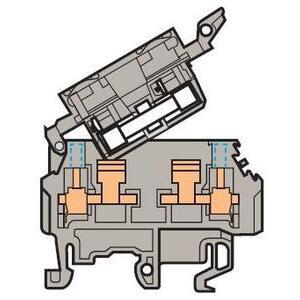 Entrelec 011566222 Fuse Holder Terminal Block, Type: M 4/8.SFT
