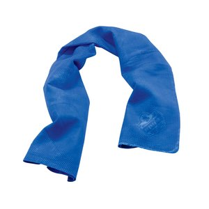 Ergodyne 12420 Evaporative Cooling Towel, Blue