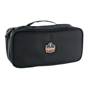 Ergodyne 13210 2 Pocket Large Clamshell Organizer, Black
