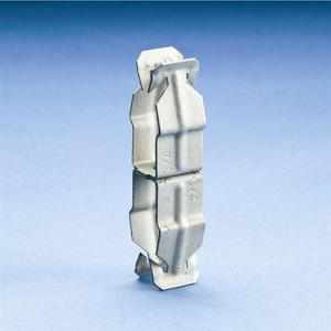 """Erico Caddy 16P16P Conduit to Conduit Clip, 3/4"""" to 1"""", Steel"""