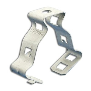 """Erico Caddy 20M Snap Close Conduit/Pipe Clamp, 1-1/4"""", Steel"""