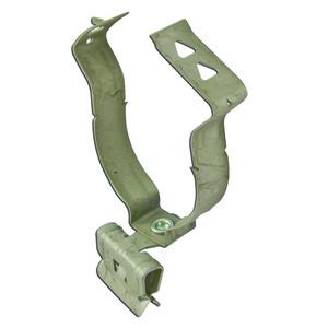 """Erico Caddy 24M24SM Flange-Mount Conduit Clip, Type: Snap, 1-1/2"""" Conduit, Steel"""