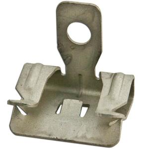 "Erico Caddy 4H24 Flange Clip, Type Hammer-On, Fits 1/8 to 1/4"" Flange"