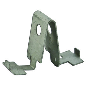 Erico Caddy 510HD Box Mounting Clip, Mounts to T-Bar Hanger, Steel