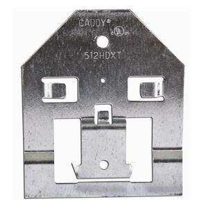 """Erico Caddy 512HDXT 3-5/8"""" Extension Bracket, Steel"""