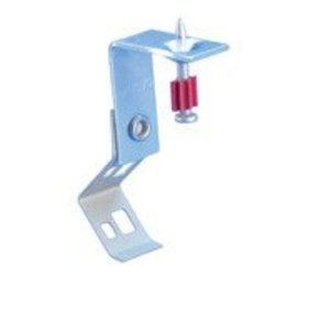 """Erico Caddy 708SF Push Install Rod/Wire Hanger with Shot-Fire Bracket, 1/4"""", Steel"""