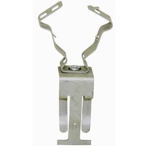 "Erico Caddy 812MATA Conduit Clip, 1/2"" - 3/4"", Steel"