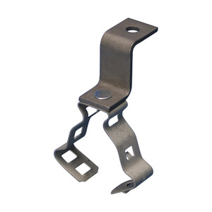 Erico Caddy 812MCPNAM Conduit to Deck Angle Bracket, Steel