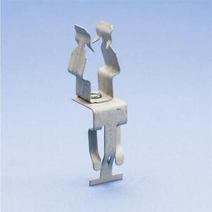 "Erico Caddy 8PATA Conduit Clip, 1/2"", Steel"