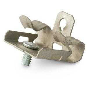 """Erico Caddy M24S Flange Clip, Type Hammer-On/Stud, Fits 1/8 to 1/4"""" Flange"""