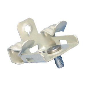 """Erico Caddy M58S Flange Clip, Type Hammer-On, Fits 5/16 to 1/2"""" Flange"""