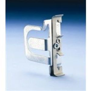 Erico Caddy MCS1004Z Support Bracket For MC/AC Cable, Attaches to #12 Wire Thru 1/4 Rod