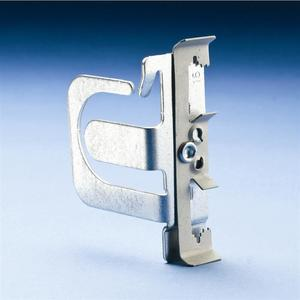 Erico Caddy MCS504Z Support Bracket For MC/AC Cable, Attaches to #8 Wire Thru 1/4 Rod