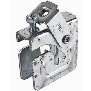 """Erico Caddy PHSW6 Purlin Clamp with Swivel, 3/8"""" Rod, 1/4"""" Max Flange, Steel"""