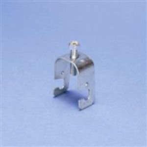 "Erico Caddy RGC Clamp, Type: Grid Wire, Post Mount: 3/4 - 1"", Size: #2 - #8, Steel"