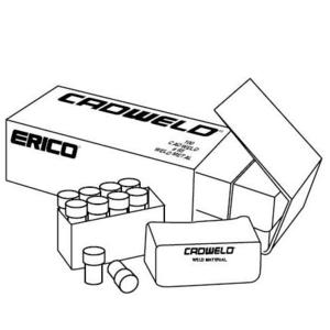 Erico Cadweld CA15 Cadweld Welding Material, Package Quantity of 20.