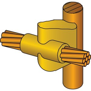 Erico Cadweld GYR181V Erc Gyr181v Mold,cable To Grd Rod,v