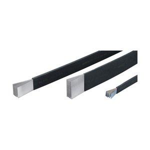 Erico Eriflex 505525 Flexibar, Flexible Tinned Copper Conductor, PVC Insulated, Length: 9.84'
