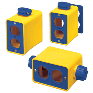 Ericson 6000 6000 Series Portable Power Outlet Boxes