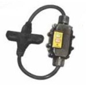 Ericson XG2-12-2TT In-Line GFCI, Molded-On Plug & Tri-Connector, 15A, Auto, 2'
