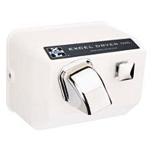 Excel Dryer 76-W-110/120 WH HAND DRYER