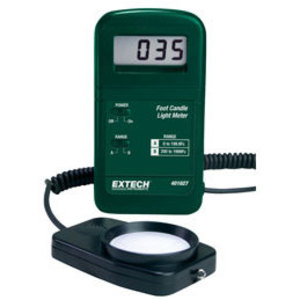 Extech 401027 Light Meter, Digital, Pocket Size