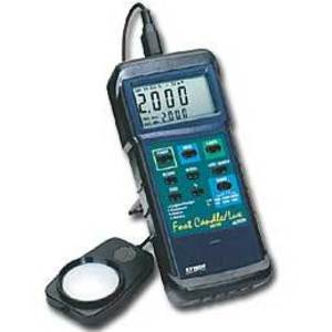 Extech 407026 Light Meter, Digital, w/ PC Interface