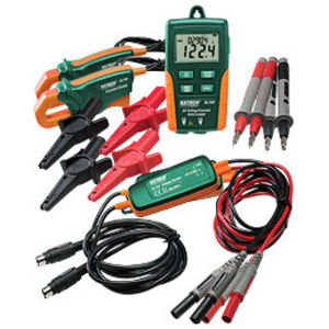 Extech DL160 AC Voltage / Current Datalogger, LCD