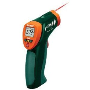 Extech IR400 Portable Mini Infrared Thermometer, 8:1