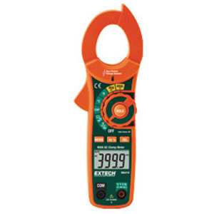 Extech MA410T AC Clamp Meter, True RMS, 400 Amp, LCD Display