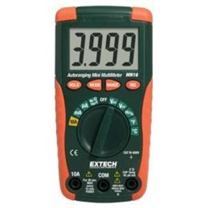Extech MN16A Multimeter, Miniature, Digital
