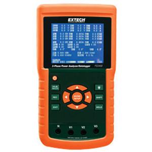 Extech PQ3450 Power Analyzer / Dataloggger, 3 Phase
