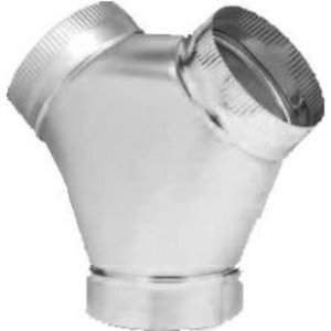 """Fantech FY-4 """"Y"""" Adapter for Circular Duct"""