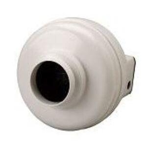 """Fantech HP-190 In-Line Radon Fan, 4 or 5"""" Duct, 157 CFM"""