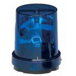 Federal Signal 121S-120B Beacon, Rotating, Incandescent, Blue, Voltage: 120V AC